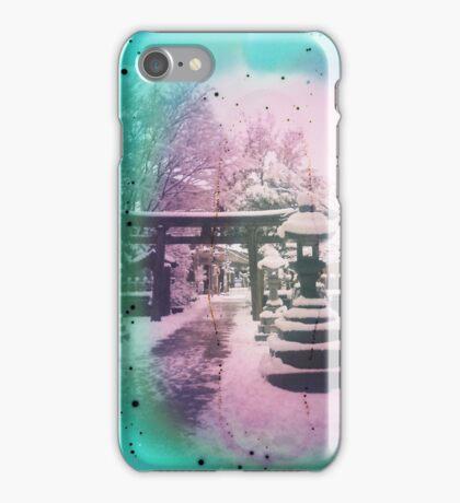 Snow Trilogy #1 iPhone Case/Skin