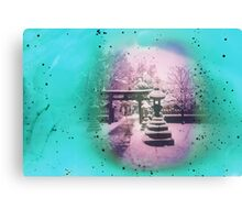 Snow Trilogy #1 Canvas Print