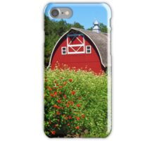 Barn Beyond the Garden iPhone Case/Skin