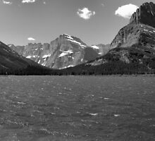 Swiftcurrent Lake, Many Glacier by JamesA1