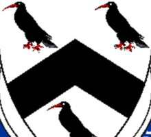 Coat of arms (family crest) for last-name or surname Thomas (Wales) . Heraldry banner for your name. Sticker