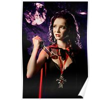 As the vampire pauses in the moonlight Poster