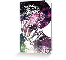 Galaxy Robert Englund Freddy Krueger Greeting Card