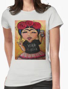 Frida Rocks / Frida Roquera Womens Fitted T-Shirt