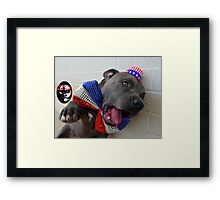 UZA Skyler wants you! Framed Print