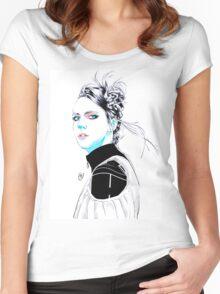 MØ (Karen Marie Ørsted) Women's Fitted Scoop T-Shirt