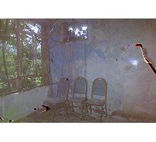 Abandoned Hotel Photographic Print