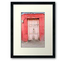 8-66 Framed Print