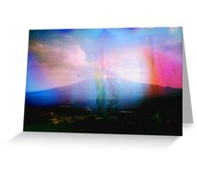 Mount Fuji Greeting Card