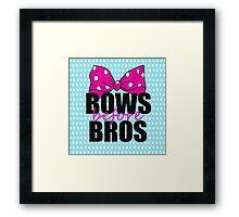 Bows  Framed Print