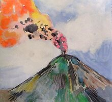 volcano 3 by hollyobaby