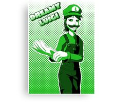 Dreamy Luigi Canvas Print