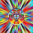 Inner Rainbow of Light by saleire
