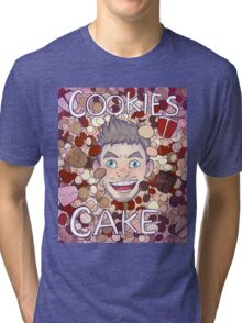 Cookies and Cake! Tri-blend T-Shirt