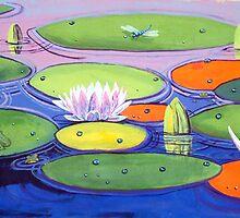Water lillies2 by John Segond