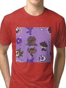 Ghost Pokemon Tri-blend T-Shirt