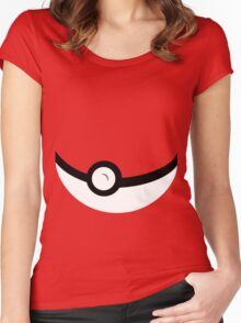 Catch 'em All Women's Fitted Scoop T-Shirt