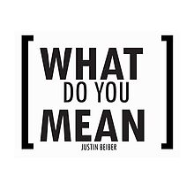 WHAT DO YOU MEAN by arinta