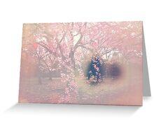 Sakura Seep Greeting Card