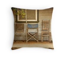 Take a Seat! Throw Pillow