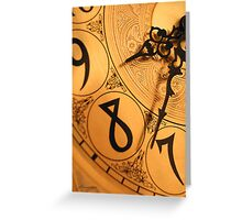 8 O'Clock Shadow Greeting Card