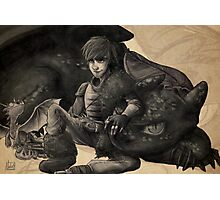 Dragon Trainer - Hiccup Photographic Print