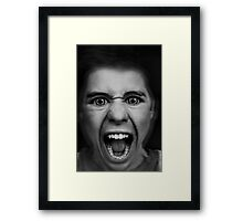 excess Framed Print
