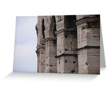The Coliseum - close up Greeting Card