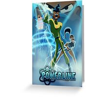 Powerline - Goofy Movie Greeting Card