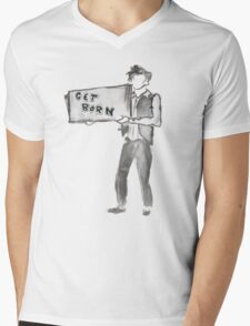 Subterranean Homesick Blues Mens V-Neck T-Shirt