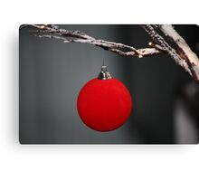 Christmas is simple Canvas Print
