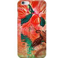 humming bird finds flowers close te water iPhone Case/Skin