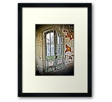 Lookin' Out My Back Door  Framed Print