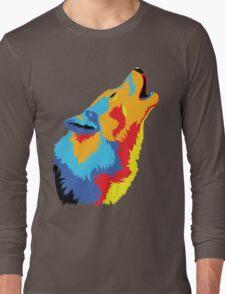 Popart Wolf  Long Sleeve T-Shirt