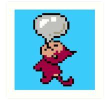 EarthBound -- Bubble Monkey Art Print