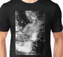 Black and White watercolour Unisex T-Shirt