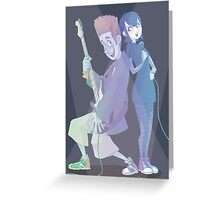 Always a Good Time - Johnny & Mavis Greeting Card