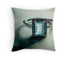 The Engagement Throw Pillow