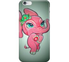 The Pink Elephant  iPhone Case/Skin