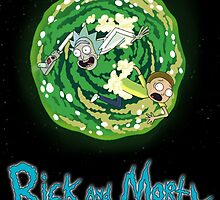 Rick and Morty poster by monokosisters