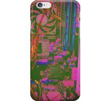 Neon Compute Pink iPhone Case/Skin