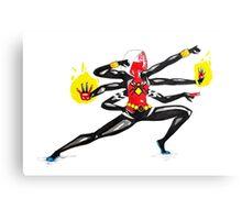 spider women fusion Canvas Print