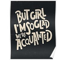 Acquainted Poster