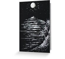 Moonlight Shadow Greeting Card