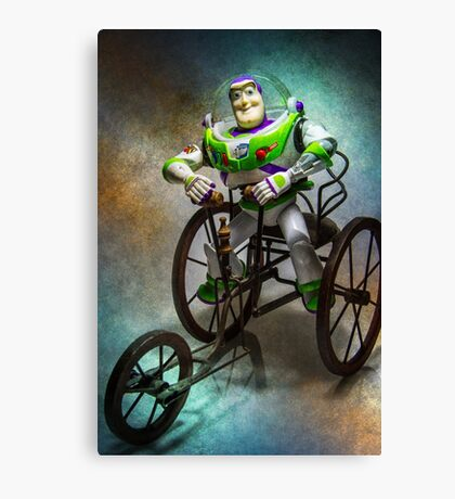 Driving Buzzed Canvas Print