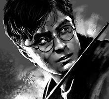 Harry Potter Fan Art Print by sugarpoultry