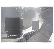 Road delusions in the Fog , by Brown Sugar . F* Views (235)  Thanks ! Poster