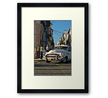 Taxi, Havana,Cuba. Framed Print