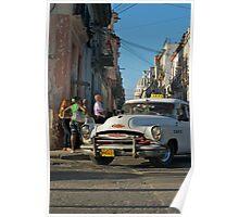 Taxi, Havana,Cuba. Poster