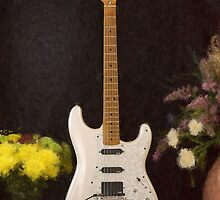 Strat Painting by jkorth